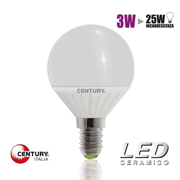 lampadina globo led : Lampadina LED CENTURY