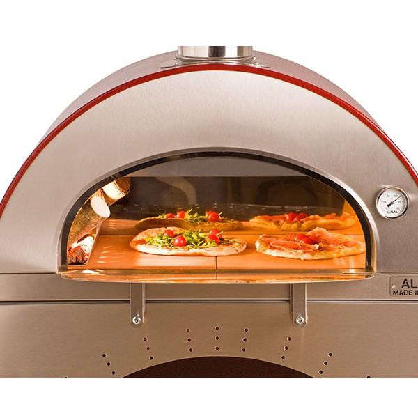 Forno a legna pizza brace in acciaio inox alfa - Forno pizza da gennaro ...