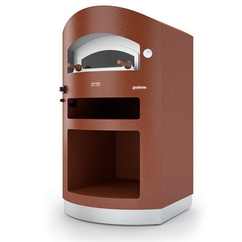 Forno a gas gastone in acciao inox alfa refrattari 4 for Forno a gas