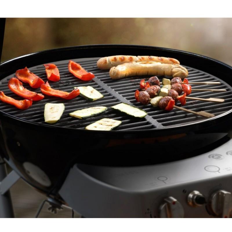 Griglia in ghisa l per barbecue di 54 cm outdoorchef for Griglia per barbecue bricoman