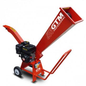 Biotrituratore Motore a scoppio Loncin GTE 160 OHV 160 cc - GTE 600 G Sistema 2 + 1 Controlama ∅ max rami 55 mm
