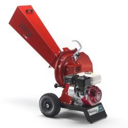 Biotrituratore Motore a scoppio HONDA GX160 - AGRINOVA ZO50H Sistema lame e martelli ∅ max rami 55 mm - MADE IN ITALY
