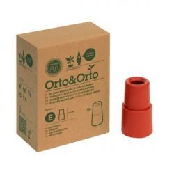 Distanziali per Vaso Modulare Orto&Orto (conf. 4 pz) Materiale Plastico Colore cotto - Orto&Orto NOVITAL