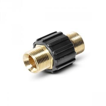 Raccordo per tubi A.P. allacciamento 2 x M 22 x 1,5 m per Idropulitrici Professionali KARCHER
