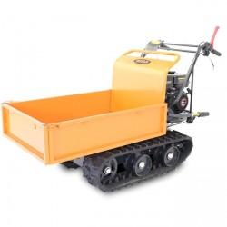 Motocarriola a cingoli AMA TAG300N - Portata 300 kg - Cassone estendibile - Motore Benzina Loncin 6,5 hp