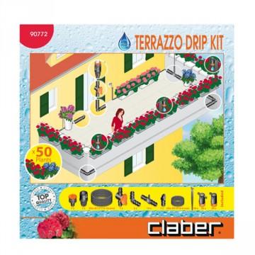 Kit per Irrigazione Terrazzo per 50 piante - DRIP 50 - CLABER 90772