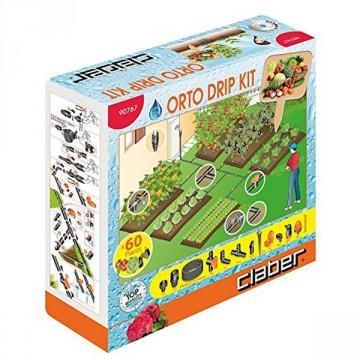 Kit per Irrigazione Orto per 60 piante fino a 6 zone - DRIP 60 - CLABER 90767