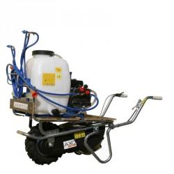 Carrello per irrorazione e diserbo con Carriola Motorizzata con Cisterna da 100 litri AXO - ACPI 100-25PLE