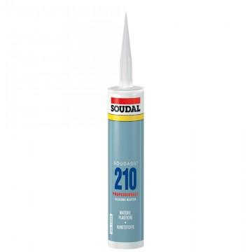Sigillante siliconico per materie plastiche - SOUDAL POLICARBONATO - Soudasil 210 - Neutro - 310 ml