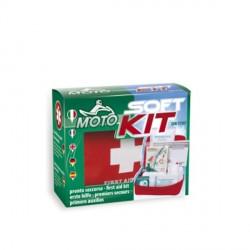 Soft Kit Pronto Soccorso per Moto con contenuto a norma DIN 13167 - CPS140