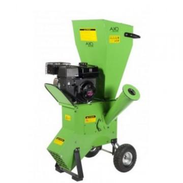 Biotrituratore Motore a Scoppio 15 Hp - AXO ABIOCIP15.0E con Sistema a Lame ∅ max Rami 89 mm