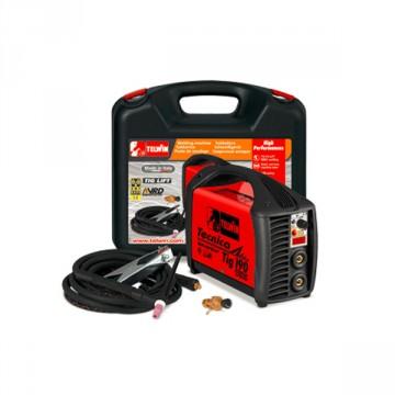 Saldatrice Inverter TECNICA TIG 190DC VRD 230V + Kit valigetta in plastica - TELWIN - 816219