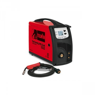 Saldatrice Inverter TECHNOMIG 215 DUAL SYNERGIC 230V - TELWIN - 816053