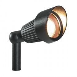 Proiettore Spot Focus Nero - Lampadina Alogena 20W - GARDEN LIGHTS GL3031011