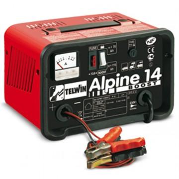 Caricabatterie con Carica Rapida ed Amperometro ALPINE 14 BOOST 230V 12V - TELWIN - 807543