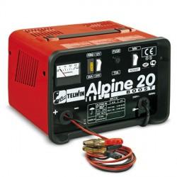 Caricabatterie con Carica Rapida ed Amperometro ALPINE 20 BOOST 230V 50/60HZ 12-24V - TELWIN - 807546
