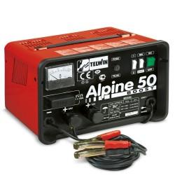 Caricabatterie con Carica Rapida ed Amperometro ALPINE 50 BOOST 230V 12-24V - TELWIN - 807548