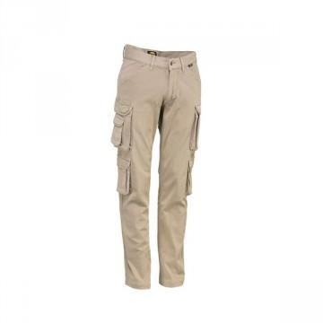 Pantalone Wayet II All Season Cargo elasticizzato con tasche DIADORA UTILITY - ACTIVE Beige - 160298 25070