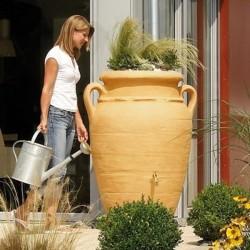 "Vaso Cisterna ""Anfora Antica Intera"" - Vaso da fiori e Cisterna per acqua ø 78 x h 120 cm - GARANTIA - ESCHER"