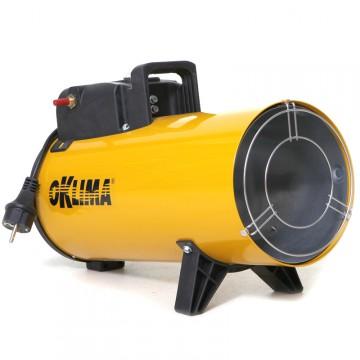 """Generatore Mobile d'aria Calda OKLIMA """"SG80M"""" a GPL"""