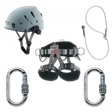 KIT PLATINUM Kit professionale ad alte prestazioni per treeclimbing e lavoro con funi (posizionamento) - Con Zainetto - CAMP