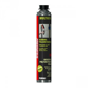 Schiuma Poliuretanica Multiuso PUR 961 - FRIULSIDER - 750 ml