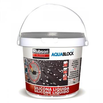 Silicone Liquido Grigio SL3000 - RUBSON HENKEL- 1 Kg - 1139769