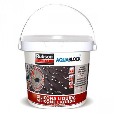Silicone Liquido Bianco SL3000 - RUBSON HENKEL- 1 Kg - 1139769