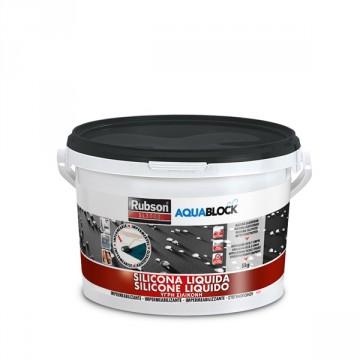 Silicone Liquido Nero SL3000 - RUBSON HENKEL- 5 Kg - 1139769