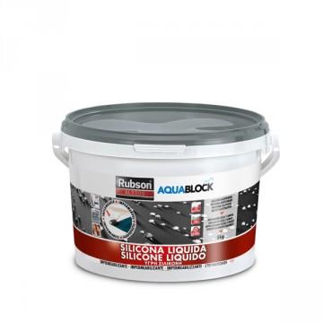 Silicone Liquido Grigio SL3000 - RUBSON HENKEL- 5 Kg - 1139769