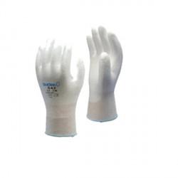 Guanto in Nylon aderente rivestito di Poliuretano SHOWA B0500 Palm Fit White