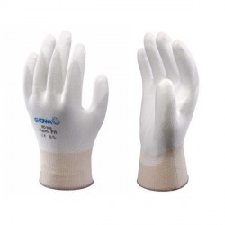 Guanto in Nylon aderente rivestito di Nitrile SHOWA 370 Assembly Grip White