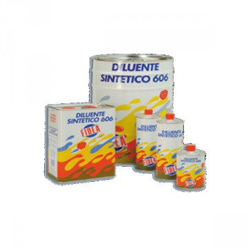 Diluente per Vernici Sintetiche - 606 FIDEA - 5 Litri