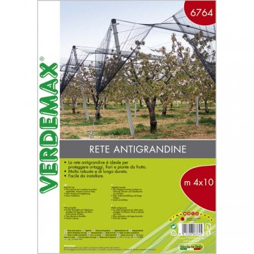 Rete antigrandine in busta m 4 X 10 m 33 gr/mq - VERDEMAX 6764