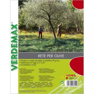 Reti per olive antispina - Telo con taglio centrale 8 x 8 m - VERDEMAX 8462