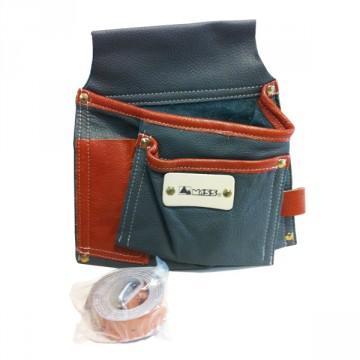 Borsa da Carpentiere 2 tasche Extra morbida MASS - 090L