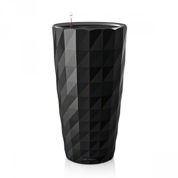Vaso Diamante con sistema di AUTO-IRRIGAZIONE - ø40xh.75 cm - disponibile in 2 COLORI