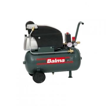 Compressore elettrico Serbatoio da 24 litri con ruote BALMA MC20/24 - 1129100311