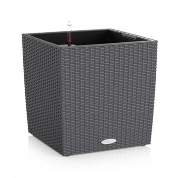 Vaso Cube Cottage 40 con sistema di AUTO-IRRIGAZIONE - 40x40xh.40 cm - disponibile in 3 COLORI