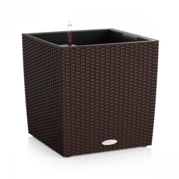 Vaso Cube Cottage 50 con sistema di AUTO-IRRIGAZIONE - 49x49xh.49.5 cm - disponibile in 3 COLORI - LECHUZA