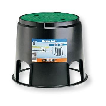 Pozzetto circolare cm 29 x h 25 con elettrovalvola CLABER - 90500 -