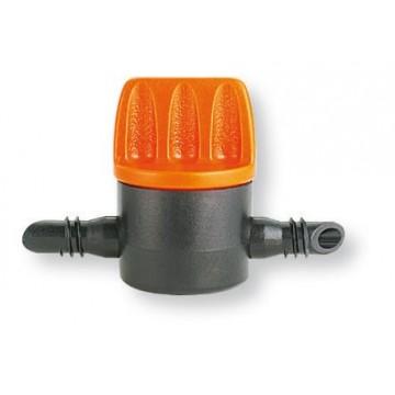 """Rubinetto per tubo capillare 1/4"""" CLABER - 91270 - (conf. 5 pz)"""