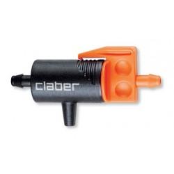 Gocciolatore in linea da 0-6 l/ h 91217 - (conf. 10 pz.) - CLABER