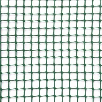 Rete quadra maglia 10 mm - h 1 x 1 m - Verde - VERDEMAX 8077