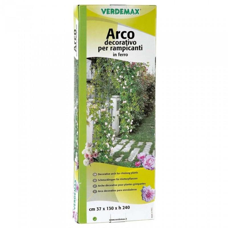 Arco in ferro decorativo per rampicanti 37x130xh240cm for Arco decorativo giardino