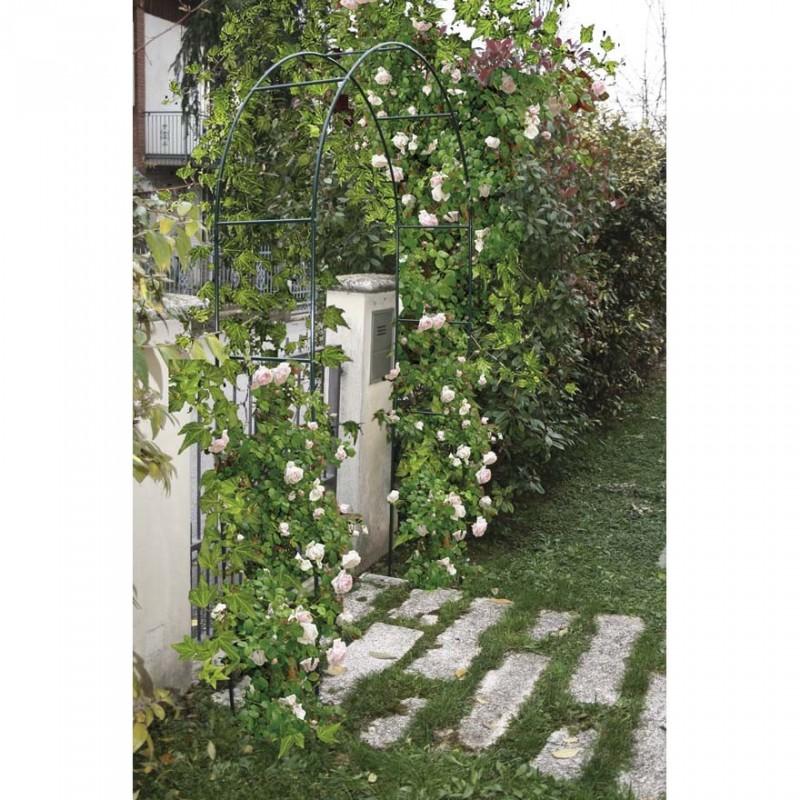 Arco in ferro decorativo per rampicanti 37x130xh240cm - Archi per giardino ...