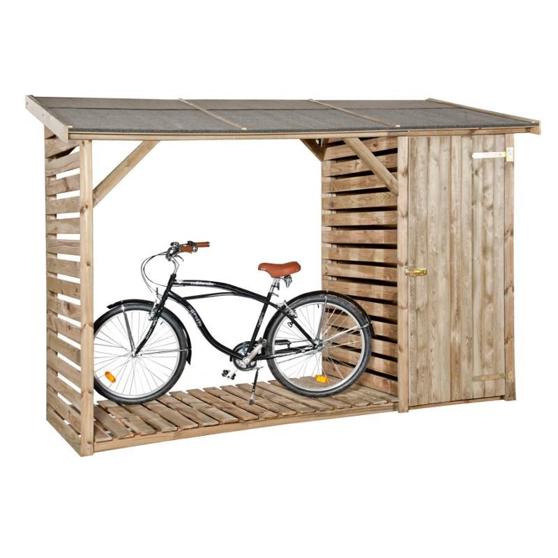 casetta in legno pino impregnato pircher legnaia con