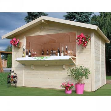"""Chiosco da giardino in Legno 300x200x235 h """"CHIOSCO 3020"""" - GARTEN PRO 5965290A"""