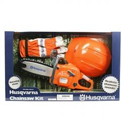 Motosega Giocattolo Husqvarna con kit di protezione