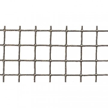 Rete quadra metallica plastificata maglia 12,7x12,7 mm - h 0,5 x 5 m - VERDEMAX 9051